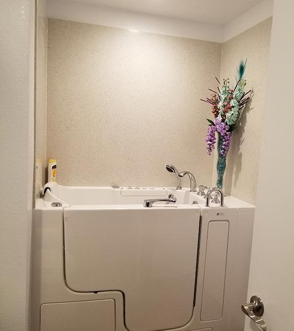 Renovate for Aging Parents; American Therapy Tubs