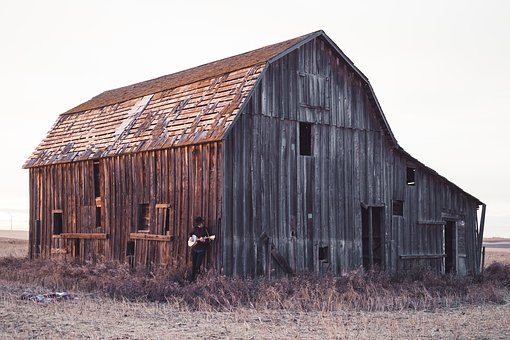 What's Hot: Stolen Farmhouse Barn Wood