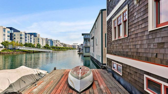 Rare Floating Home in San Francisco for Sale
